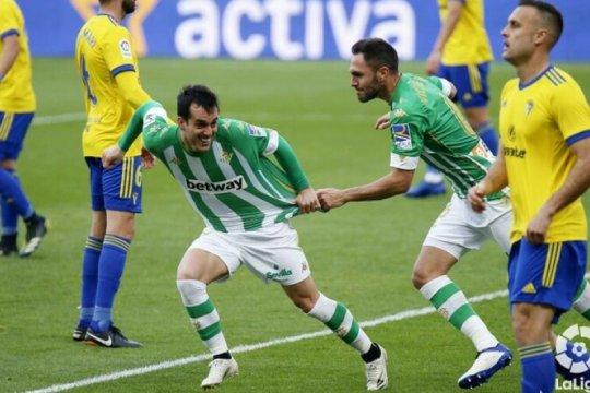 Kalahkan Cadiz 1-0, Real Betis naik ke posisi enam La Liga