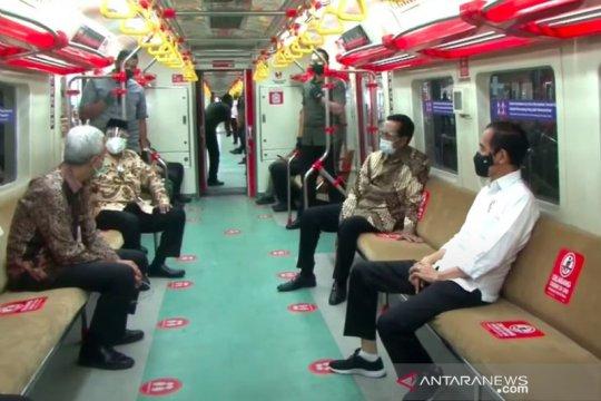 Presiden Jokowi ingin KRL Yogyakarta-Solo dongkrak ekonomi-pariwisata