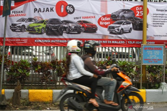 Pemerintah resmi berlakukan insentif kendaraan bermotor dan perumahan