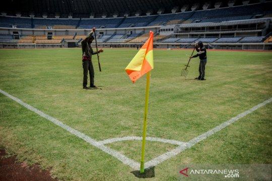 Stadion GBLA dipersiapkan untuk Turnamen Piala Menpora 2021