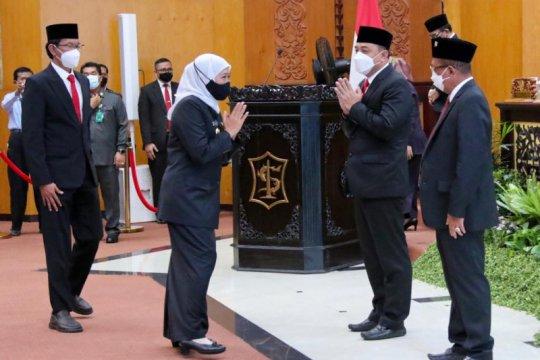 Khofifah minta Pemkot Surabaya bersinergi dengan Pemprov Jatim