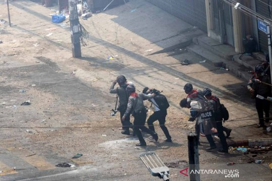 10 Polisi Myanmar tewas dalam serangan tentara etnik melawan junta