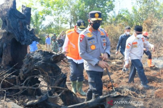 Kapolda Aceh: TNI, Polri, BPBD fokus lakukan pemadaman karhutla
