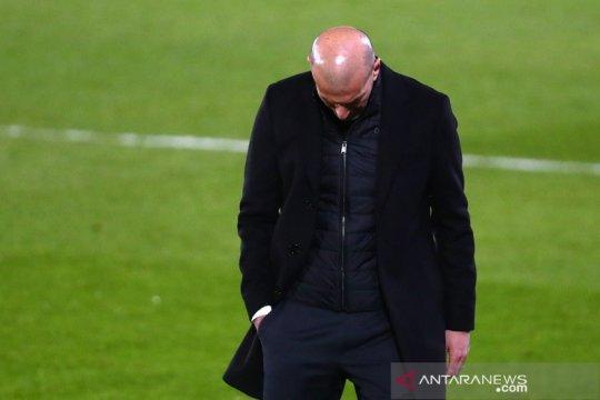Zidane merasa Real Madrid pantas dapat lebih dari satu poin