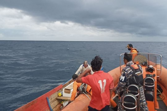 Basarnas selamatkan dua nelayan di Jiko Halmahera Selatan