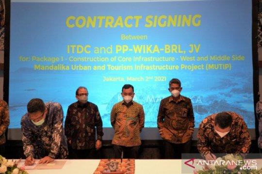 ITDC tanda tangani kontrak pembangunan Mandalika Rp1,7 triliun