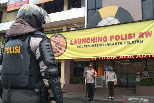 Polres Jaksel luncurkan Polisi RW untuk membantu pengendalian COVID-19