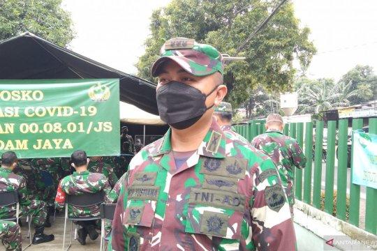 Kodim 0504/Jaksel lakukan vaksinasi bagi 457 personel TNI