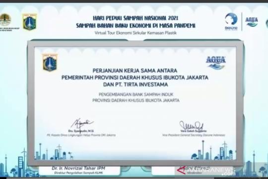 DKI Jakarta buat kesepakatan kerja sama kembangkan Bank Sampah Induk