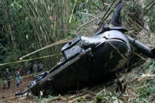 Helikopter jatuh ke danau di China, dua tewas, dua hilang