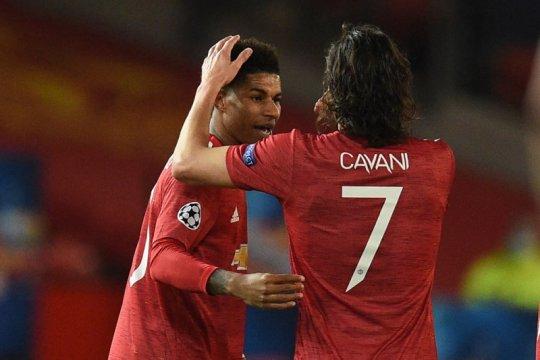 Solskjaer puji kerelaan Cavani serahkan nomor punggung 7 untuk Ronaldo