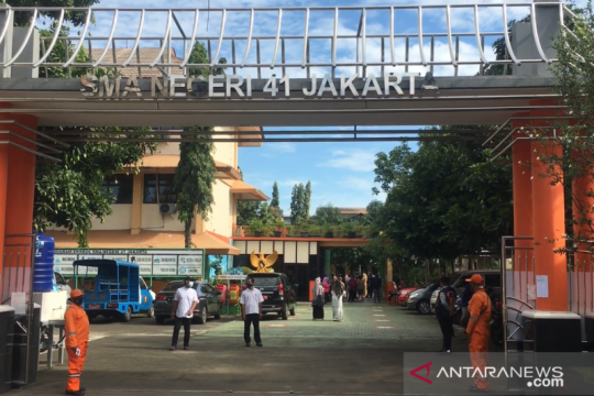 540 lansia telah divaksin COVID-19 di SMAN 41 Jakarta
