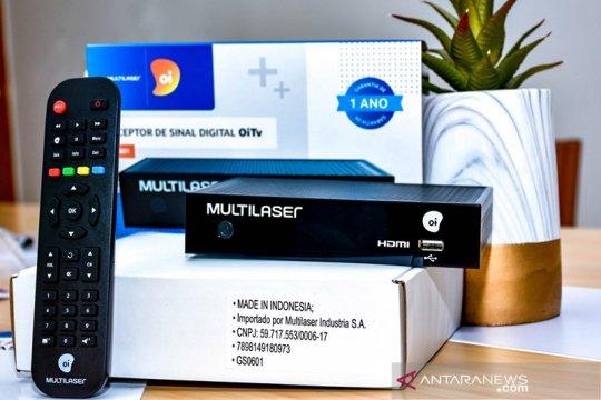 Industri elektronik ekspor 40 ribu unit set top box ke Brasil