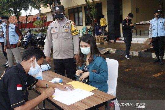 Asrama Tangguh Polresta Bandara Soetta sisakan satu kasus COVID-19