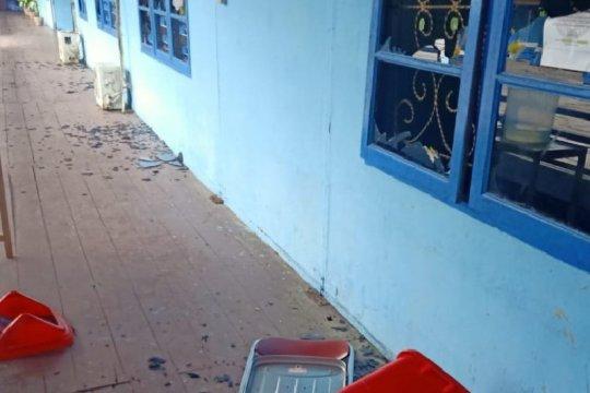 Tujuh orang pelaku perusakan di kantor bupati di Agats diamankan