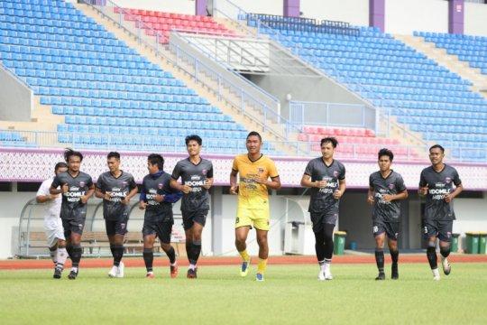 Persita Tangerang gelar latihan perdana usai rehat empat bulan