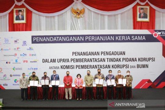 Pelindo I teken komitmen anti korupsi dengan KPK