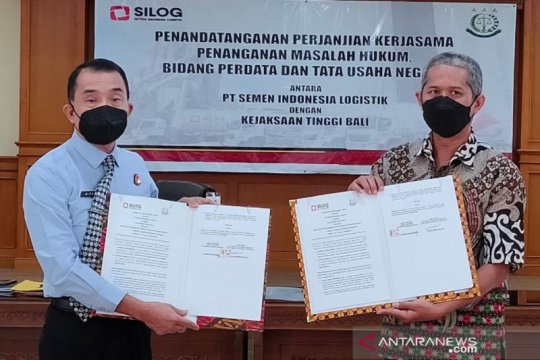 SILOG-Kejati Bali jalin kerja sama Penyelesaian Permasalahan Piutang