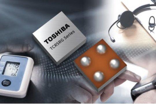 Toshiba luncurkan regulator LDO yang bantu kurangi ukuran perangkat
