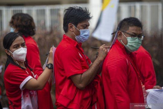 "Lima atlet dayung pelatnas divaksin jelang ""try-out"" SEA Games"