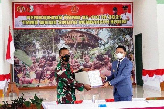 Pemkab Boven Digoel dukung program TMMD sejahterakan warga kampung