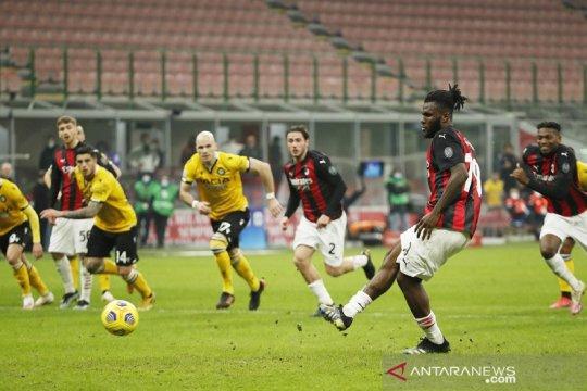 Penalti Franck Kessie hindarkan Milan dari kekalahan kontra Udinese