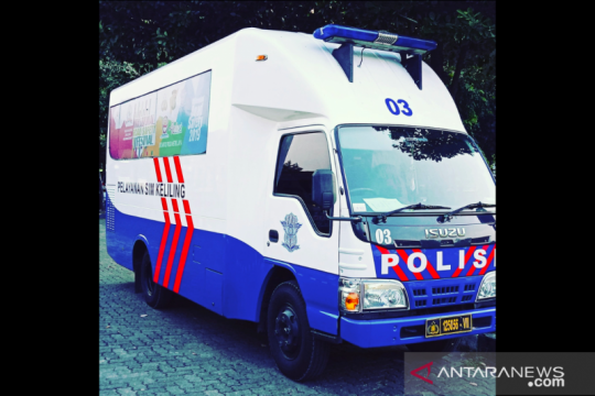 Ini lokasi layanan SIM Keliling di Jakarta hari ini