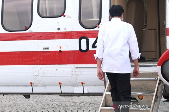 Presiden bertolak ke Banten, resmikan Bendungan Sindang Heula