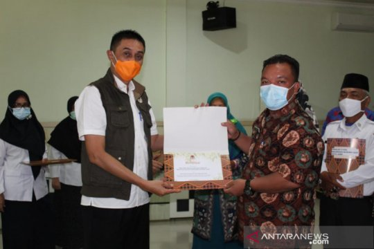 Desa binaan PT Wira Karyasakti Jambi terima penghargaan