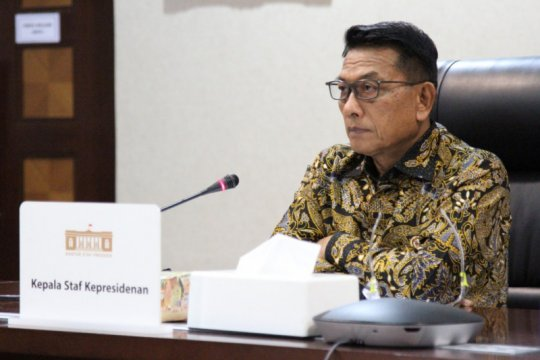 Presiden Jokowi apresiasi kerja keras penanganan pandemi COVID-19