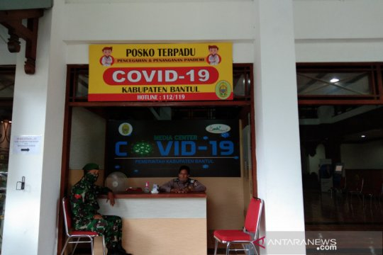 Tren kasus positif COVID-19 harian di Bantul turun