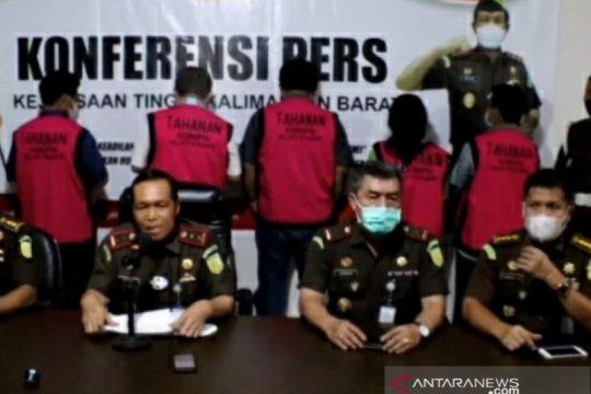 Kejati Kalbar tahan lima tersangka kasus korupsi PTPN XIII