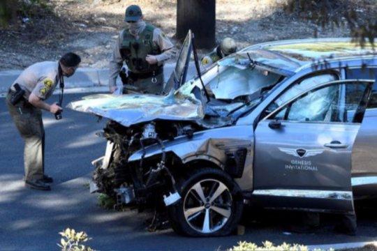 """Penyelidik investigasi """"black box"""" di mobil Tiger Woods"""