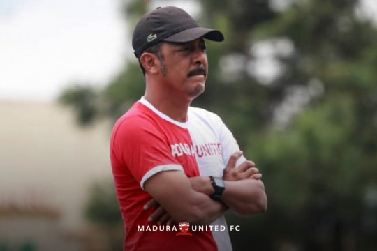 Madura United tak pasang target muluk-muluk pada Piala Menpora