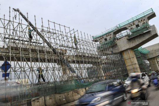 Proyek pembangunan enam ruas tol dalam kota Jakarta