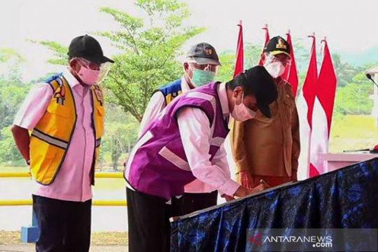 Presiden: Bendungan Sindang Heula pasok air bagi industri di Banten