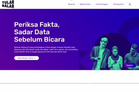 Tular Nalar luncurkan website untuk bantu Anda berpikir kritis