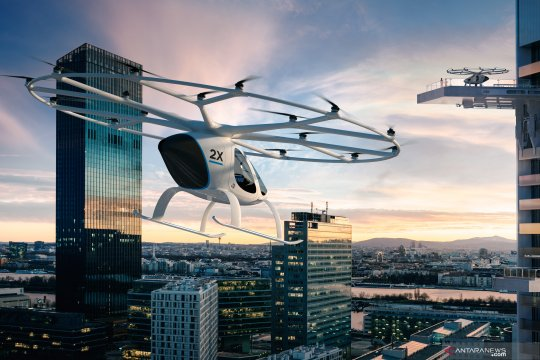 Taksi terbang Volocopter dapat suntikan dana 200 juta euro