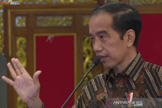 Presiden Jokowi imbau masyarakat tak khawatir varian baru virus Corona