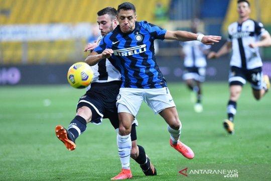 Alexis Sanchez tegaskan Inter hanya fokus untuk hindari kesalahan