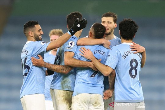 Klasemen Liga Inggris: City semakin mapan selepas laga tengah pekan