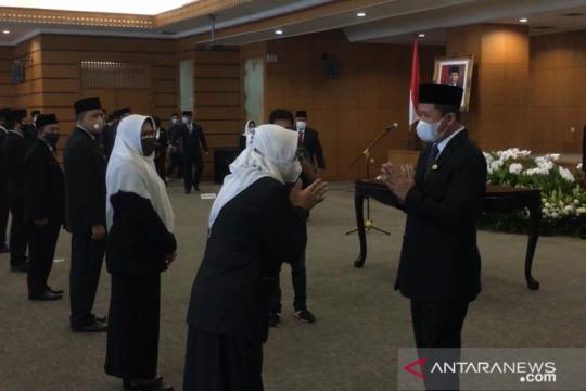 Wali Kota Jakut lantik Kasudin, Kasudan, dan Kepala Puskesmas baru