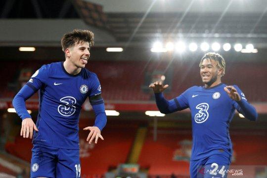 Liga Inggris:  Chelsea kalahkan Liverpool 1-0