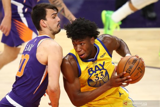 NBA: Phoenix Suns  kalahkan Warriors 120 - 98