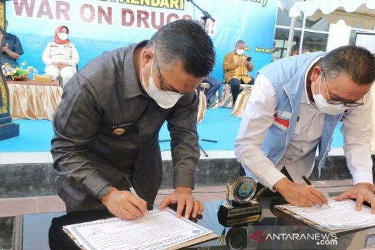 BNN Sultra-Pemkot Kendari mendeklarasikan empat kelurahan bersinar