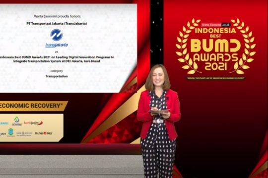 TransJakarta raih penghargaan BUMD terbaik kategori transportasi