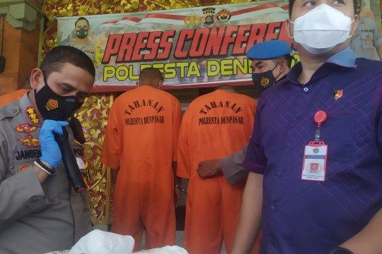 Polisi tangkap dua bandar 30 kg ganja jaringan lintas provinsi