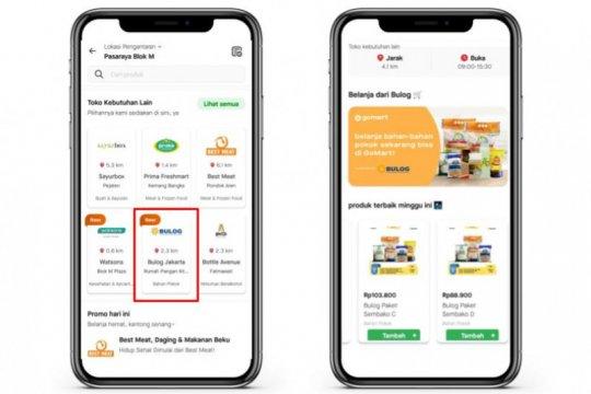 BULOG gandeng Gojek untuk perluas akses pasar dan belanja daring