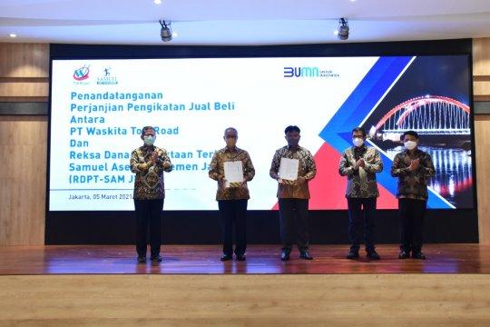 Waskita lepas 20 persen saham Tol Semarang-Batang, raup Rp1,5 triliun