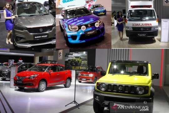 Target Suzuki 2021, naikkan pangsa pasar genjot volume ekspor